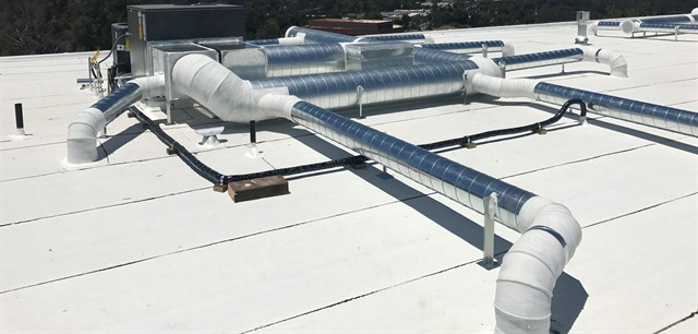 commercial installation in Los Angeles