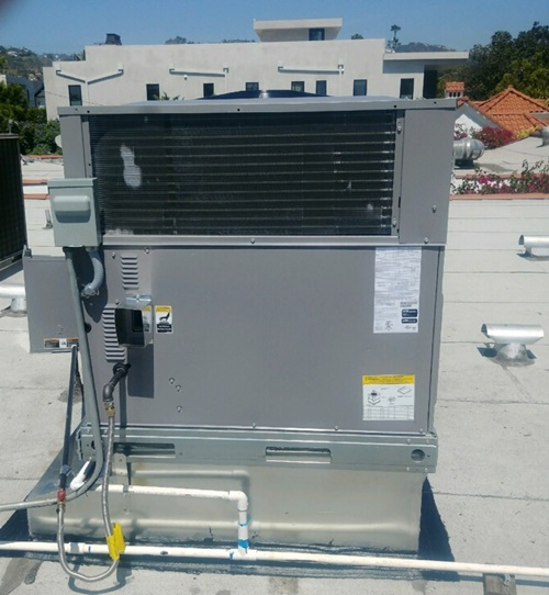 New installation air conditioning