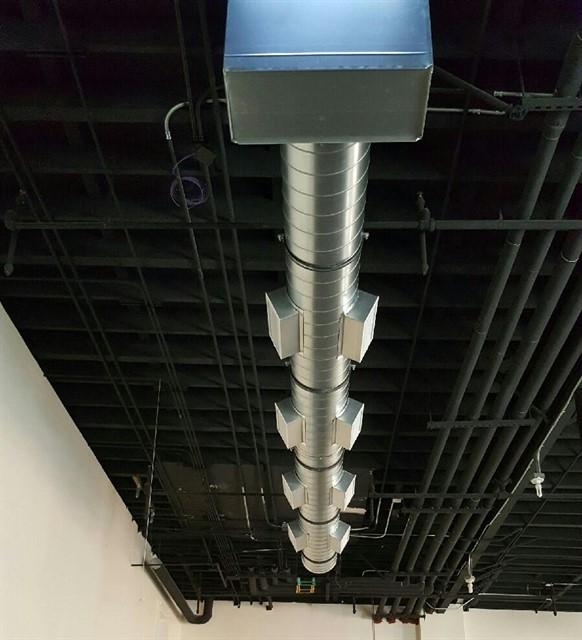 Commercial HVAC for restaurant