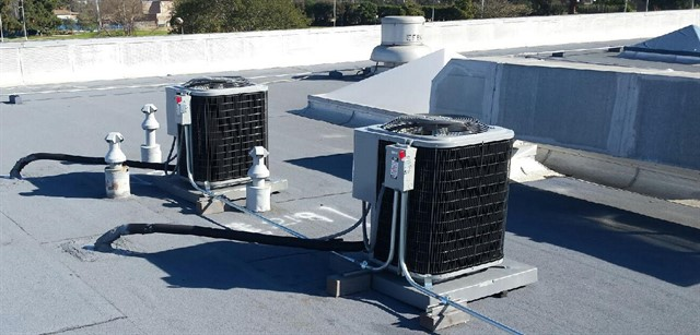 heating and air conditioning installation